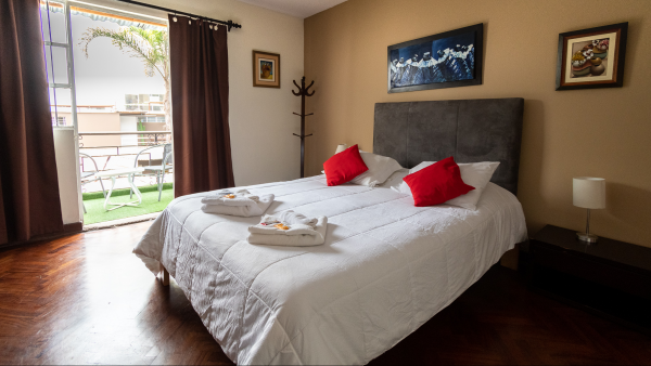 Private rooms, hotel in Lima, Stay in Miraflores